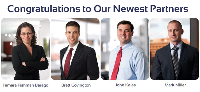 New partners photo with text_Barago_Covington_Kalas_Miller